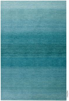 CK Linear Glow Rug Blue