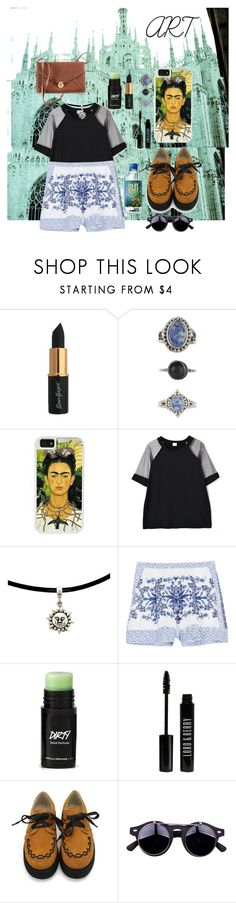 """""""Artist material ✨?"""" by pandatheod ❤ liked on Polyvore featuring Lovisa, CellPowerCases, Chicnova Fashion, Collette By Collette Dinnigan, Lord & Berry and H&M"""