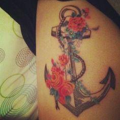 anchor #tattoo design #tattoo patterns| http://wonderfultatoos.blogspot.com