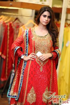 Ensemble boutique brought an entire array of exalted bridals by Nomi Ansari to Lahore with an exclusive two day trunk show showcasing the designer's latest 'Ishq' and 'Rang … Pakistani Outfits, Indian Outfits, Eastern Dresses, Wardrobe Makeover, Pakistan Fashion, Desi Clothes, Indian Attire, Kurta Designs, Wedding Suits
