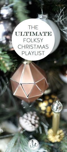 Christmas Music Playlist / Folk Singer-Songwriter Christmas Music
