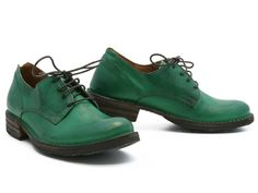 Made in Italy. Give us a classic oxford any day of the week, especially if it's made by Fiorentini + Baker! Meticulously constructed from the finest Italian leather, this timeless shoe is a knockout with top stitching on the outside and F+B's wonderful leather footbed on the inside. Wear it with skirts! Wear it with cuffed jeans! Heck, wear it with shorts (so cute)!!!