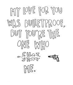 Pierce the Veil- Bulletproof Love
