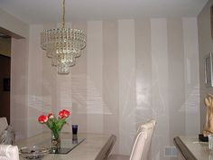 faux painting stripes  with glaze | Stripes & Strie