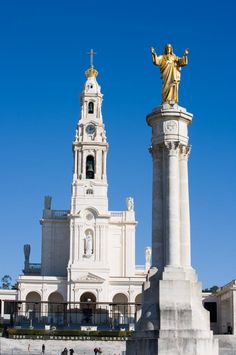 Sanctuary of Our Lady of Fatima Portugal is one of the largest Marian shrines in the world. Our Lady of Fatima is the title given to the Blessed Virgin Mary according to her apparitions to three shepherd children at Fatima on the 13th day of six consecutive months in 1917. Fatima Portugal, receives about 4-5 million pilgrims a year. https://www.pilgrim-info.com/listing/fatima/