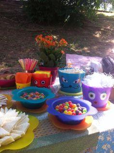 picnic na praça