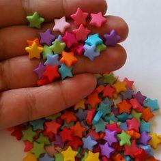 50 pcsStar Beads
