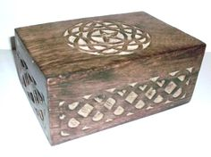 New! Celtic Circle Pentagram/Pentacle Tarot, Jewlrey Box/Wicca.Pagan/Wiccan