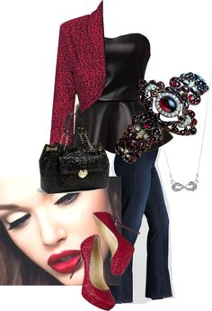 """Date Night - Be My Valentine"" by amo-iste on Polyvore"