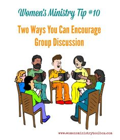 Welcome to my series on 31 Women's Ministry Tips! Tip 10 is all about encouraging group discussion.