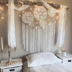 hippie room decor 733523858047142176 - Hippy Room 612630355547558138 – Fox teen room idea – ZN Coaching – # Idea … Teen fox bedroom idea – ZN Coaching – Source by Dream Catcher Decor, Lace Dream Catchers, Dream Catcher Bedroom, Beautiful Dream Catchers, Dream Catcher White, Dream Catcher Boho, Bedroom Decor, Wall Decor, Decor Room