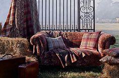 Bohemian Romance fabrics by Mulberry Home