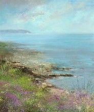 Amanda-Hoskin Prints - Summer Sailing, Falmouth Bay