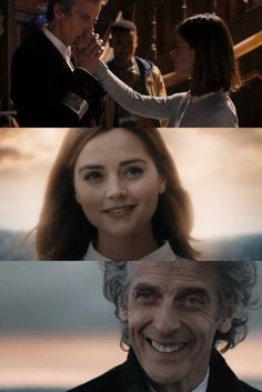 I just love(/hate) it when old companions make an appearance for a Doctor's final episode. It gets me emotional.