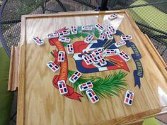 Dominoes (The most popular passtime in the Dominican Republic)