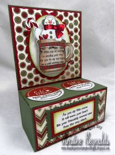 High Hopes Stamps: K Cup Holder Tutorial by Kristine