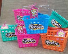 Shopkins baskets for candy!!