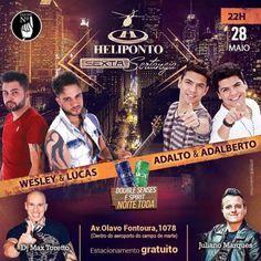 Heliponto Bar | Sexta Sertaneja com Double Senses e Spirit pra Elas a noite toda http://www.baladassp.com.br/balada-sp-evento/Heliponto-Bar/221