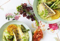 Spargelrisotto mit Zander und Kerbel Kraut, Tacos, Mexican, Ethnic Recipes, Food, Food Portions, Easy Meals, Essen, Meals