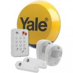 Yale Easy Fit EF-Kit1 Wireless Alarm System. A fast and effective way to secure your home.