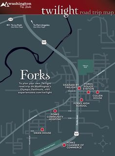 Forks/Filming Locations If you love Twilight, you know that Forks, Washington is the home of Twilight. Forks Twilight, Twilight Cast, Twilight Movie, Twilight Quotes, Bella Swan, Twilight Saga Series, Twilight Pictures, Filming Locations, Travel Usa