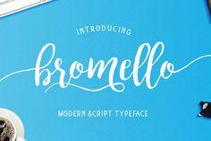 Bromello – Free Script Font