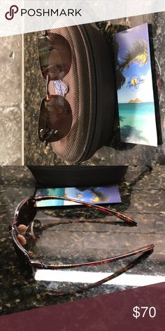 4faf198f2d8a Maui Jim Sport Polarized sunglasses Women's Maui Jim Sport Polarized  Sunglasses. Not quite 5 inches side to side and just shy of 1 inches top to  bottom.