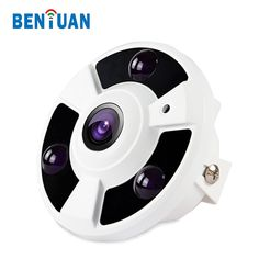 HD 2.0MP CCTV Security 360 Degree Fisheye Infrared IP Network Camera