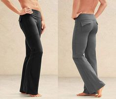 Professional-Looking Yoga Pants with pockets. Didn't even know these existed. I need these for work!