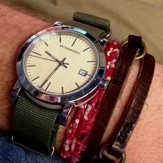 Love mixing a nice watch with some bracelets!