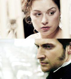 Mr. John Thornton & Miss Margaret Hale ( Daniela Denby-Ashe and Richard Armitage) ''North and South'' 2004