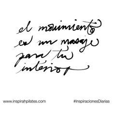 El movimiento es un masaje para tu interior  #InspirahcionesDiarias por @CandiaRaquel  Inspirah mueve y crea la realidad que deseas vivir en:  http://ift.tt/1LPkaRs