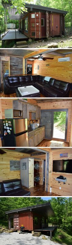 KENTUCKY SHIPPING CONTAINER CABIN
