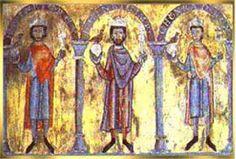 Henry Vl, Henry V and Conrad Ii (Germanic rulers of Frankish Sailian Dynasty and establishing a major European power)