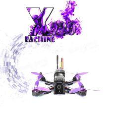 Eachine Wizard X220 FPV Racing Drone Blheli_S F3 6DOF 2205 2300KV Motors 5.8G 48CH 200MW VTX ARF Sale - Banggood.com