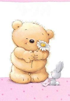 Florynda del Sol ღ☀¨✿ ¸.ღ ♥Roly Bear♥ Anche gli Orsetti hanno un'anima…♥ Teddy Bear Images, Teddy Bear Pictures, Tatty Teddy, Baby Illustration, Illustrations, Cute Animal Drawings, Cute Drawings, Urso Bear, Cute Animals Images
