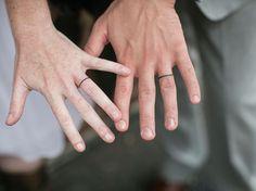 pink white ink tattoos names Tattoo wedding rings for men