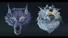 ArtStation - Wolfpack, Mac Smith Creatures 3, Creature Design, Female Characters, Concept Art, Beast, Illustration Art, Character Design, Lion Sculpture, Mac