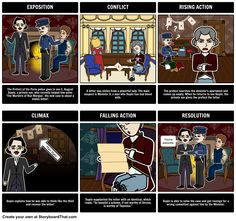 The Purloined Letter by Edgar Allan Poe - Plot Diagram: A common activity for students is to create a plot diagram of the events from a story. Not only is this a great way to teach the parts of a plot but to reinforce major events and help students develop greater understanding of literary structures.