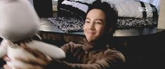 Tae Kyung (JGS) and Piggy-Bunny... just 'cause. ^_^ <3 {GIF}