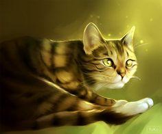 Cat study painting by Yu-koi.deviantart.com on @DeviantArt