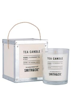 The Aromatherapy Company's Smith & Co. Folk Candles are made with soy & natural wax, combined with the delectable essential blend of Salted Caramel & Popcorn. This Smith & Co. Folk Candle can create a truly rich and delectable scent in your home.