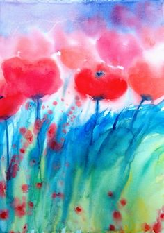 Maritta Tasken akvarell