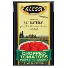Alessi Premium All Natural Chopped Tomatoes (12x17.6 Oz)