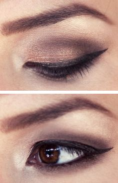 Brown Fade eyeshadow from Keiko Lynn.  Might be my NYE look?