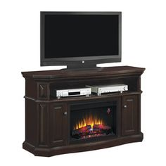 Fireplace On Pinterest Electric Fireplaces Media
