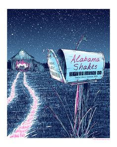 GigPosters.com - Drive By Truckers - Alabama Shakes