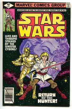 Star Wars 27 Marvel 1979 NM- Luke Skywalker C-3PO R2-D2 Carmine Infantino