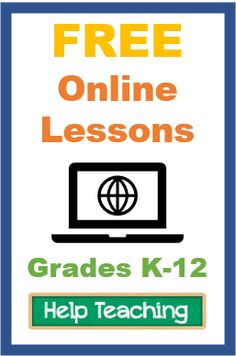 Free online lessons for ELA, math, science, and social studies. Lessons include embedded videos and practice questions. Find lessons for grades K-12.
