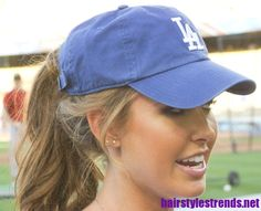 Audrina with the sporty ponytail and pretty curls :)